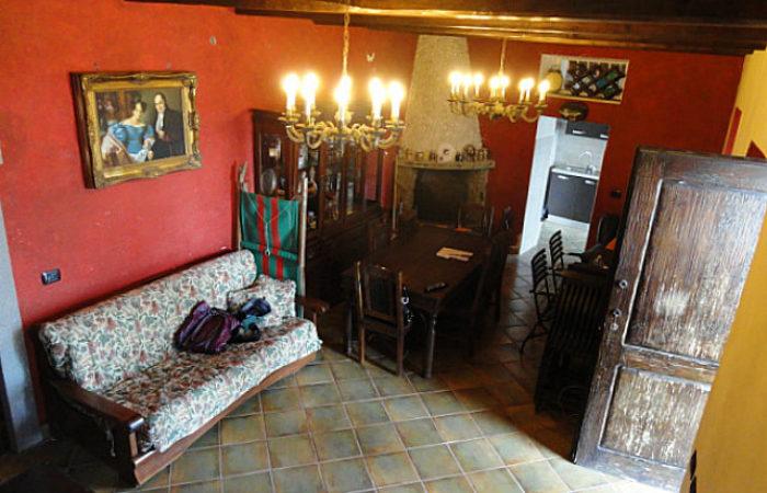 Casa antica a Capodimonte, Lago di Bolsena
